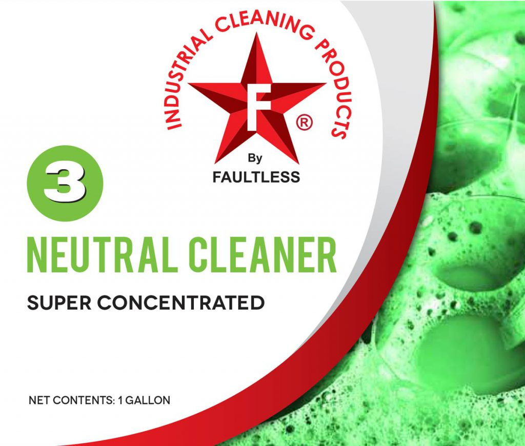 3 NEUTRAL FLOOR CLEANER