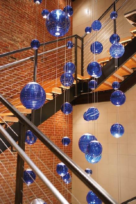 Glass and brick renovation