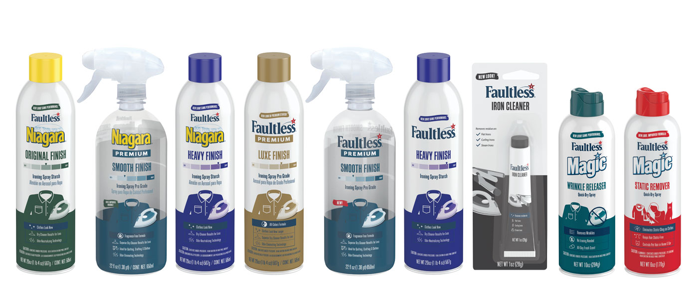 Faultless, Niagara and Magic Starch Products